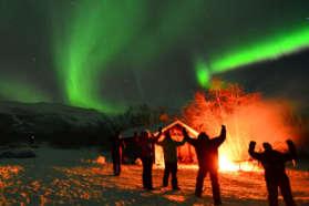 Northern Lights in Abisko Sweden - Copyright Chad Blakely