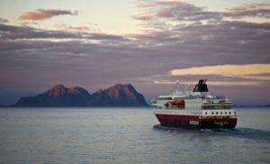 Hurtigruten ship Norway