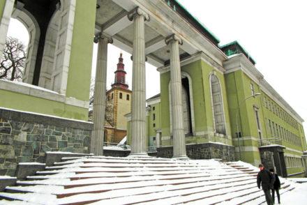 Snowy streets in Oslo Copyright Deichmann