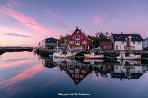 Fishing village Lofoten Norway Copyright Mathisvika