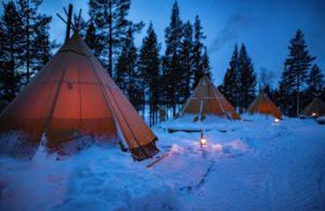 3 yurts