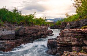 River at Abisko national park