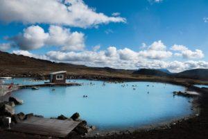 Myvatn geothermal baths in Myvatn, N Iceland
