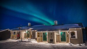 Camp Ripan cabins Kiruna Swedish Lapland