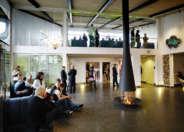 lobby at Camp Ripan Kiruna