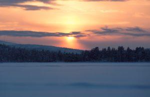 Landscape scene Sweden