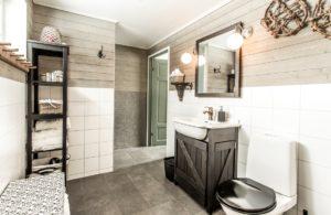 Fjellborg Arctic Lodge Bathroom