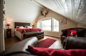Fjellborg Arctic Lodge bedroom