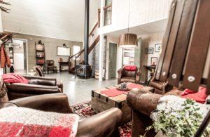 Fjellborg Arctic Lodge interior
