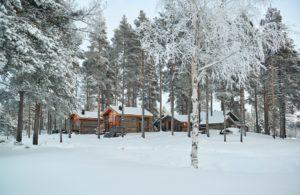 The arctic retreat camp Sweden