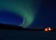 The wilderness Yurt in the Lulea Archipelago