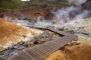 Krysuvik in Iceland