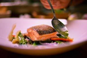 cuisine at Fjellborg Lodge sweden