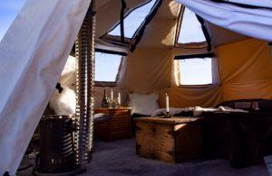 The wilderness Yurt Lulea Archipelago