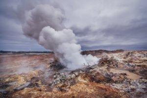 Gunnuhuver in Iceland