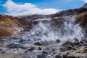 Krysuvik in Seltun in Iceland