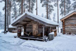 The Getronosan Restaurant at the arctic retreat