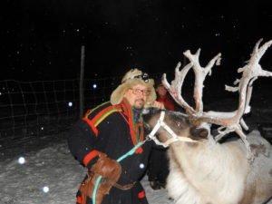 Hakan Enoksson with prized reindeer