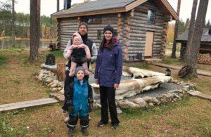 nick and Liza Arctic retreat