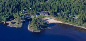 Ariel view of Brandon Lodge in Lulea