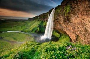 Sejlandsfoss Waterfall in Iceland