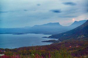 autumn landscape Abisko