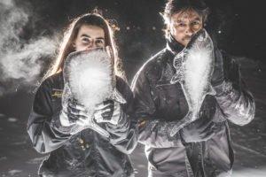 The living ocean suite Ice Artist at ICEHOTEEL Sweden