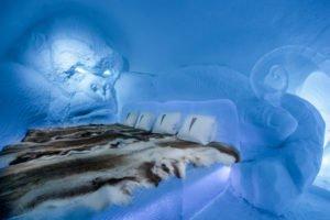 King Kong Art Suite Ice Hotel Sweden