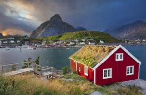 Rorbuer Cabin, Lofoten Islands