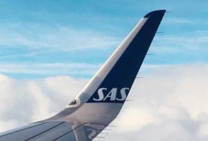 SAS plane tail