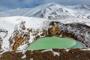 Askja crater lake, Iceland