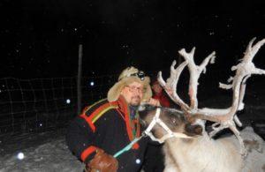 Sami reindeer guide, Hakan