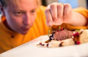 Johan, chef at Arctic Gourmet Cabins