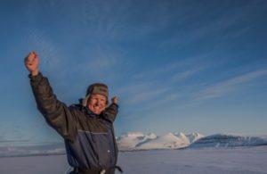 Lennart, manager of Sampi Nature Camp, Sweden