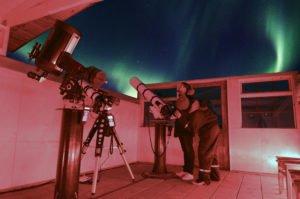 Hotel Ranga's spectacular observatory, Iceland