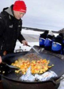 Patrik Carlman, snowmobile guide at Pine Bay and Brandon Lodges