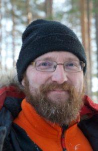 Richard Karlsson, Husky musher at Aurora Retreat