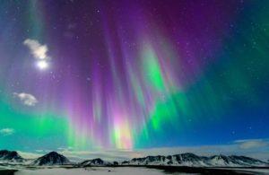 Coloured Aurora