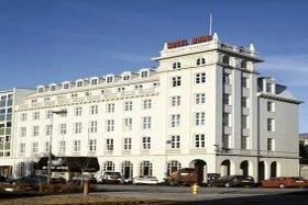 Exterior of Hotel Borg, Reykjavik