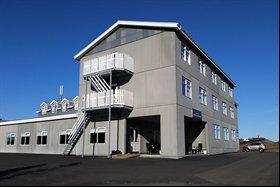 Exterior of Sel Hotel, Myvatn, Iceland