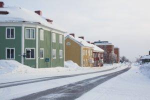 Kiruna town