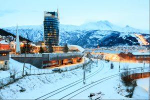 Narvik in Norway