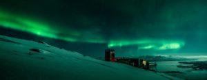 Northern Lights above Sky Station