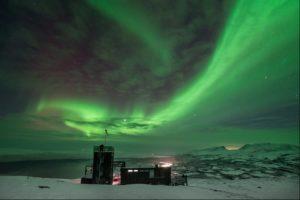 Northern Lights at Sky Station