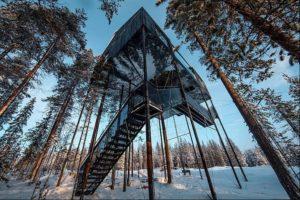 7th room, Tree Hotel Sweden