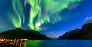 Aurora above Tromso