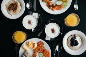 Hotel Skuggi breakfast in Reykjavik, Iceland