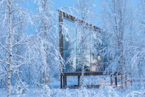 The Arctic Bath Land Suite at the Arctic Bath Harads Sweden
