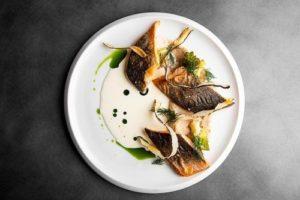 The cuisine at the Arctic Bath Swedish Lapland