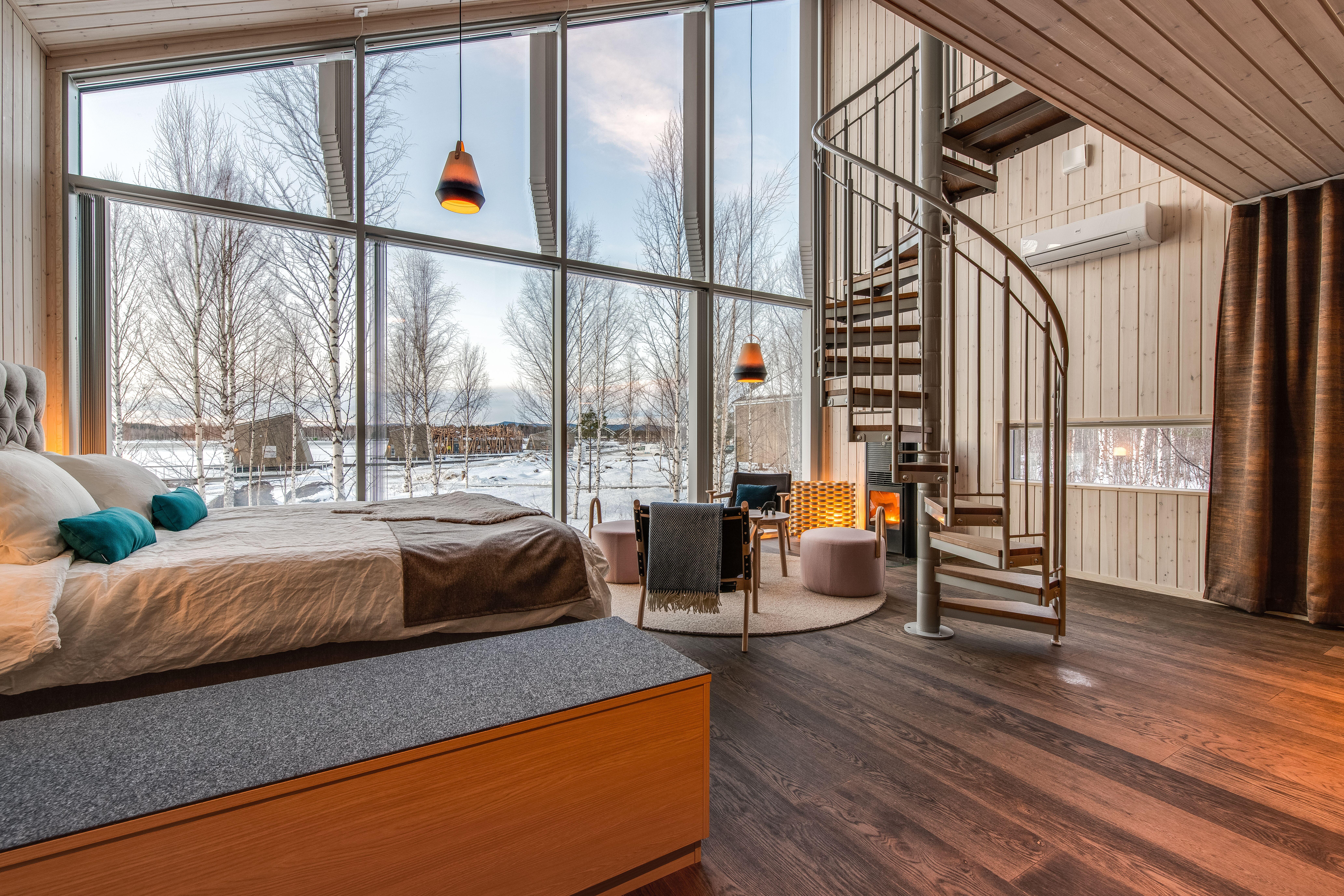 Land Cabin Suite at the Arctic Bath Sweden